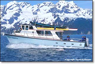 seward alaska water taxi, kayak rental